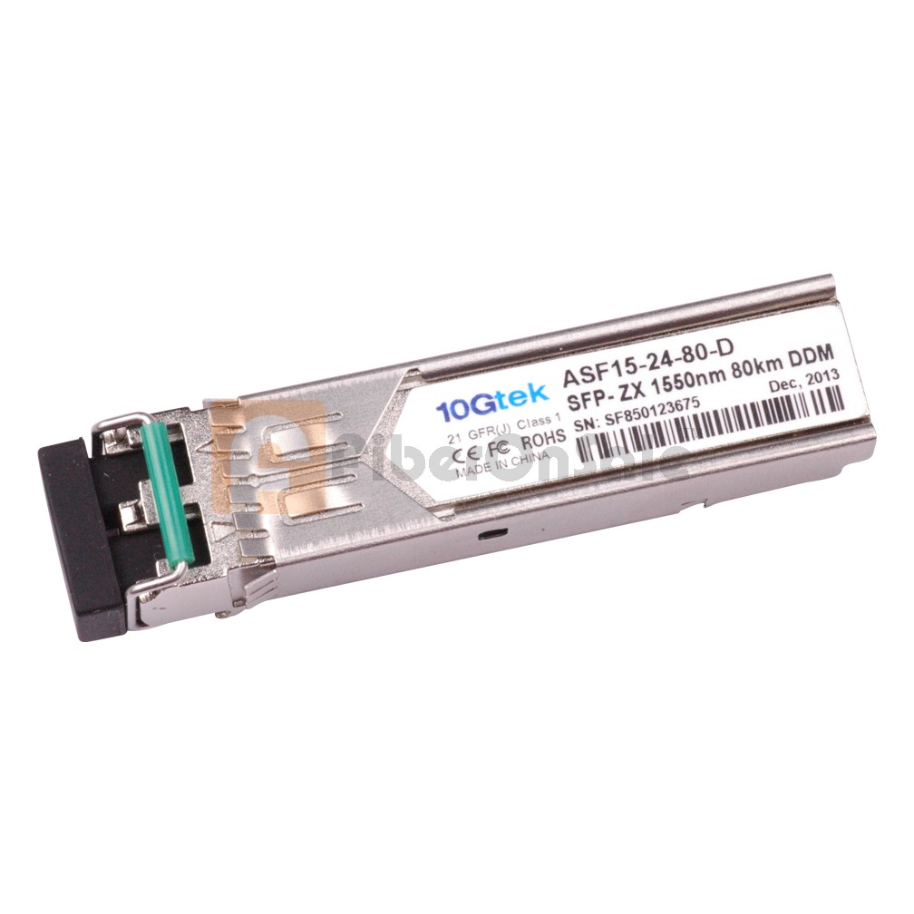 Extreme Compatible 1000BASE-ZX SFP Transceiver Module