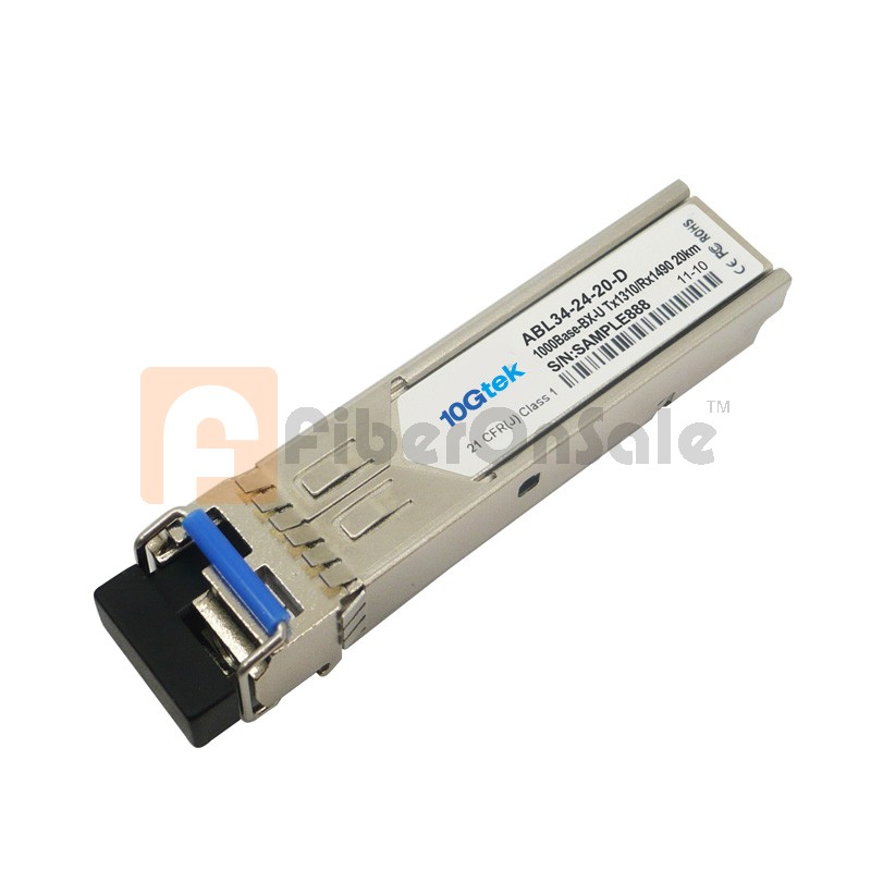 1.25Gbps 1310nmTX/1550nmRX BIDI SFP 20km Optical Transceiver