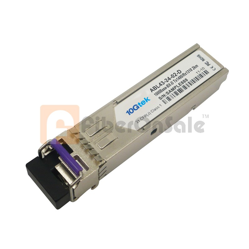 1.25Gbps 1490nmTX/1310nmRX BIDI SFP 20km Optical Transceiver
