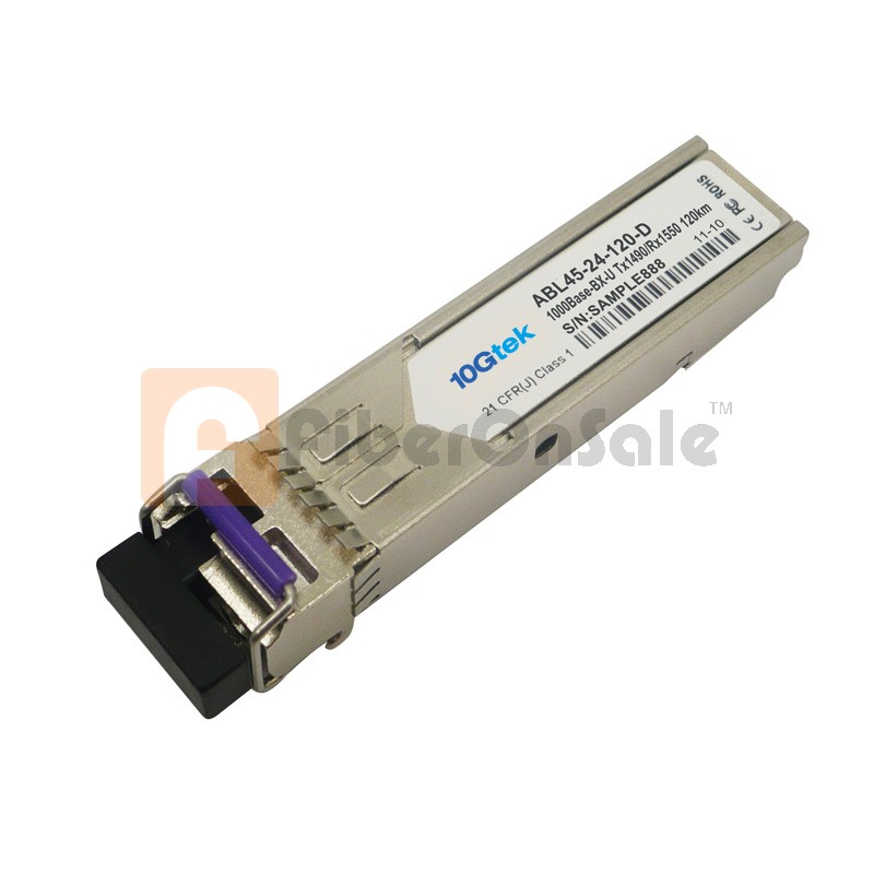 1.25Gbps 1490nmTX/1550nmRX BIDI SFP 120km Optical Transceiver with DDM