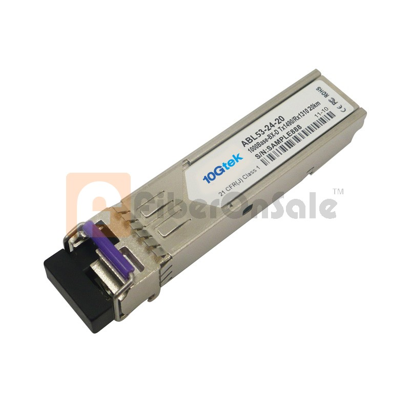 1.25Gbps 1550nmTX/1310nmRX BIDI SFP 40km Optical Transceiver