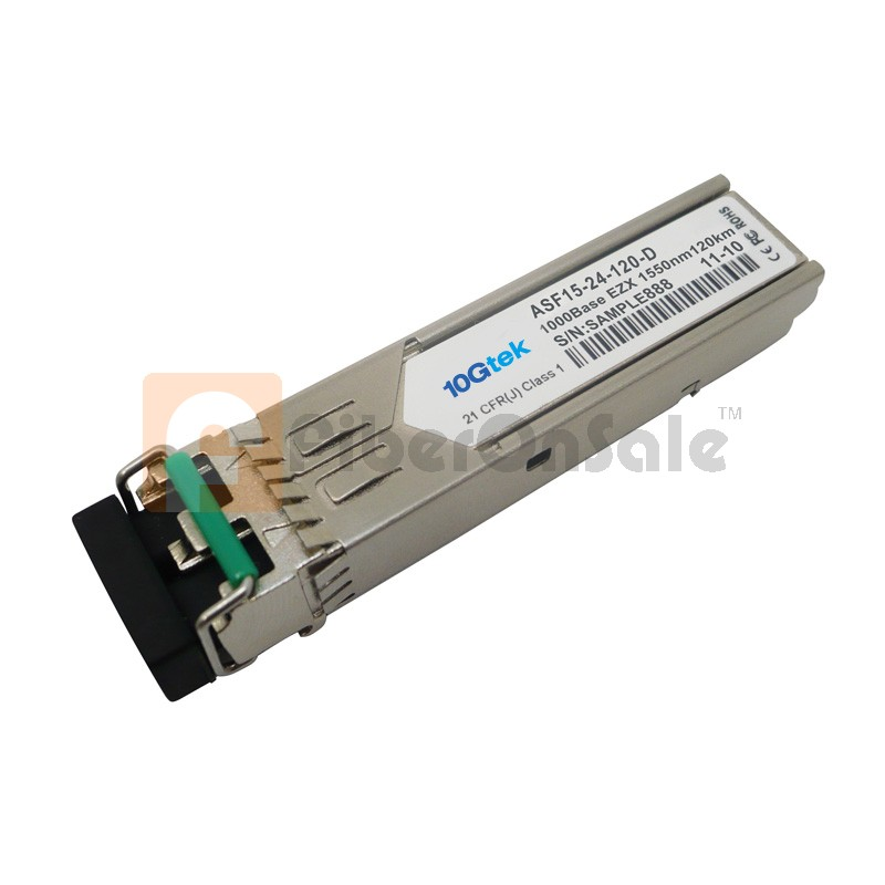 1000BASE-EZX SFP 1550nm 120km Transceiver Module