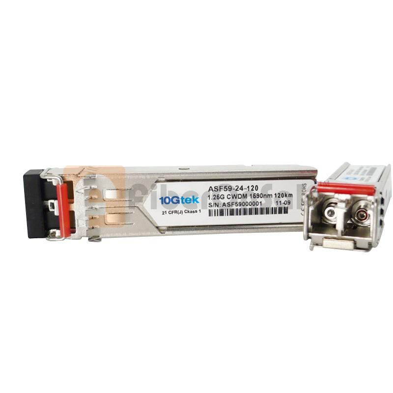1.25Gbps CWDM SFP 80km 1610nm Single-Mode Optical Transceiver