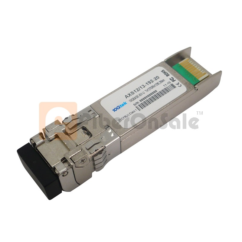 10GBASE-LR 1270nmTX/1330nmRX BIDI SFP+ 20km Single-Mode Optical Transceiver