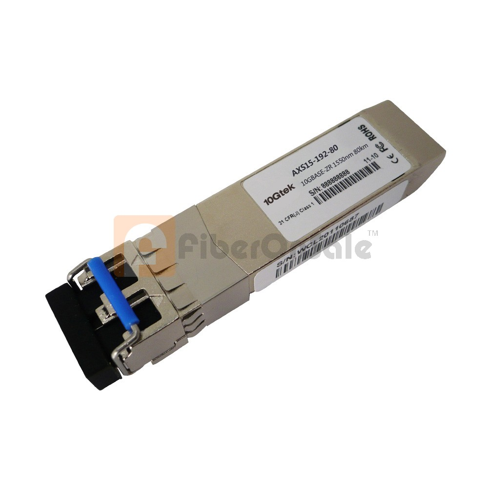 10GBASE-ZR SFP+ Transceiver 1550nm 80km Compatible Module