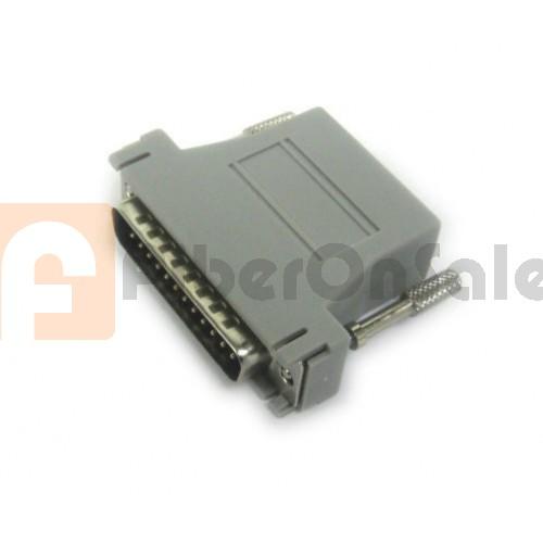 Cisco CAB-25ASMMOD DB25 Male To RJ45 Female Modem Adapter