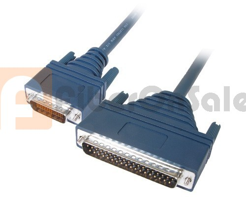 Cisco 72-0795-01 CAB-449MT LFH60 Male to DB37 RS449 DTE Male 3M Cable