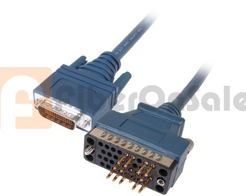 Cisco 72-0797-01 CAB-530MT LFH60 Male to DB25 RS530 DTE Male 3M Cable