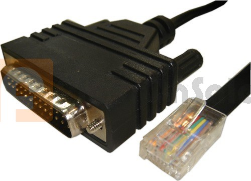 Cisco CAB-CONAUX AUX Port RJ45 to Modem DB25 1.83M Cable
