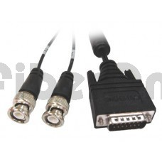 Cisco 72-0818-01 CAB-E1-BNC DB15M to 2 BNC Male 5M Cable