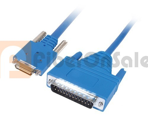 Cisco 72-1434-01 CAB-SS-530MT Smart Serial to DB25 RS530 DTE Male 3M Cable