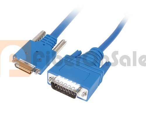 Cisco 72-1440-01 CAB-SS-X21MT Smart Serial to X.21 DB15 DTE Male 5M Cable