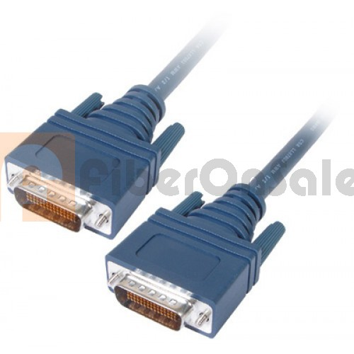 Cisco CAB-TC-25 LFH60 Male DTE to Male DCE 7.5M Crossover Cable