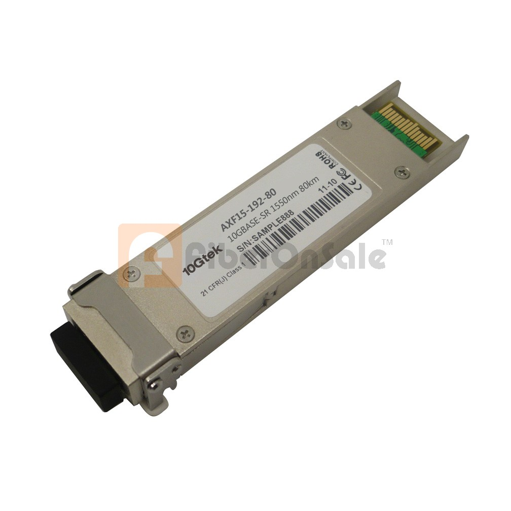 HP Compatible 10GBASE-ZR XFP Transceiver Module