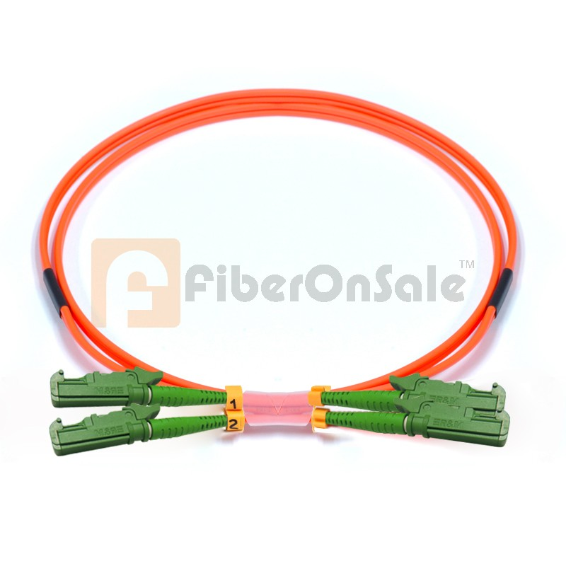 E2000-E2000 Duplex OM1 62.5/125 Multimode Fiber Patch Cable