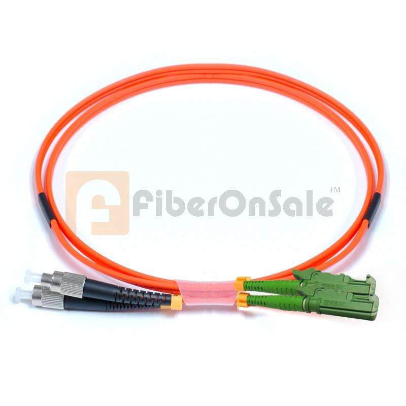 FC-E2000 Duplex OM1 62.5/125 Multimode Fiber Patch Cable