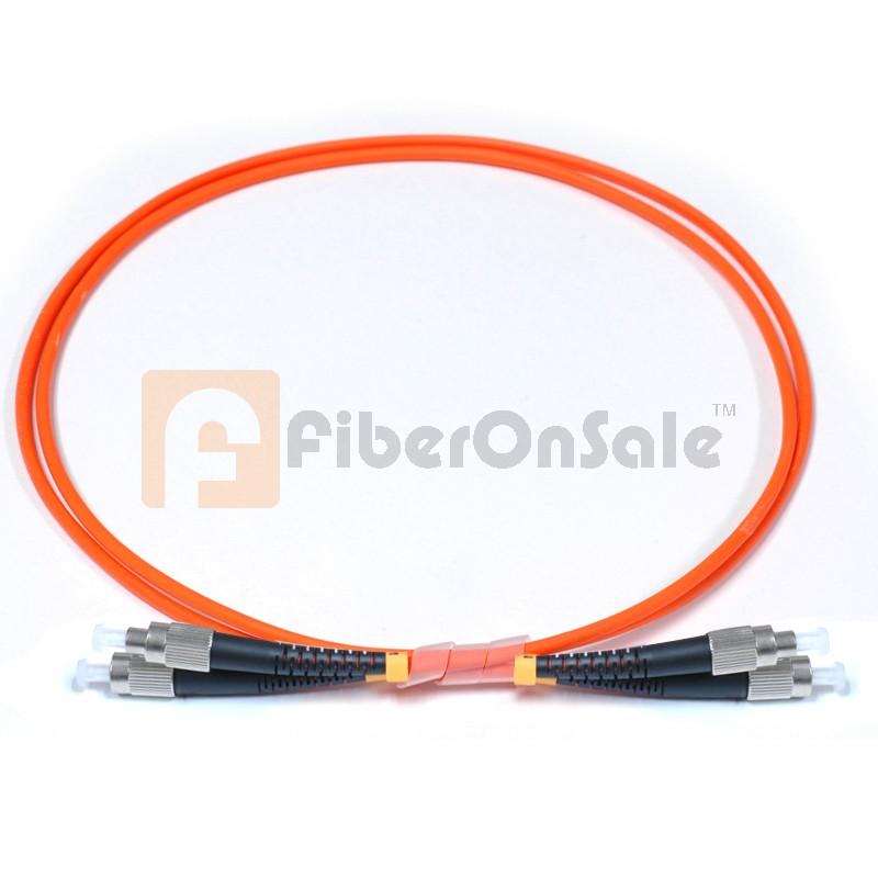 FC-FC Simplex OM1 62.5/125 Multimode Fiber Patch Cable