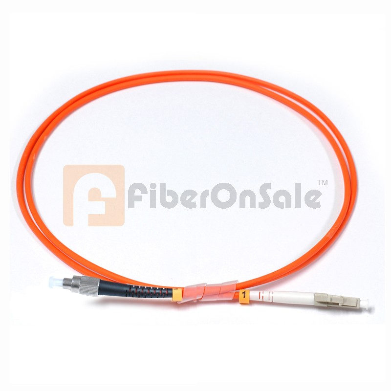 FC-LC Simplex OM1 62.5/125 Multimode Fiber Patch Cable