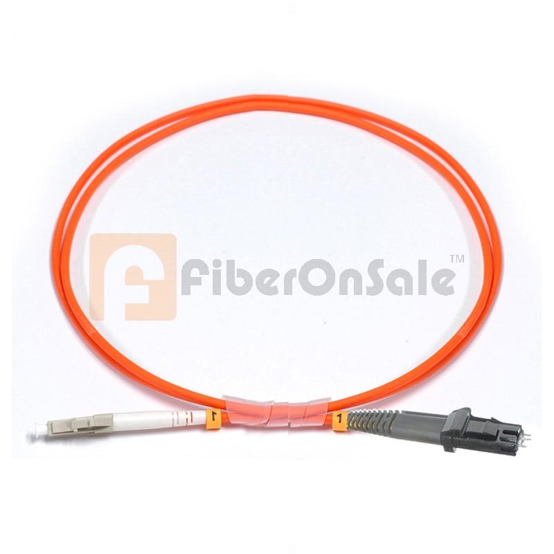 LC-MTRJ Simplex OM1 62.5/125 Multimode Fiber Patch Cable
