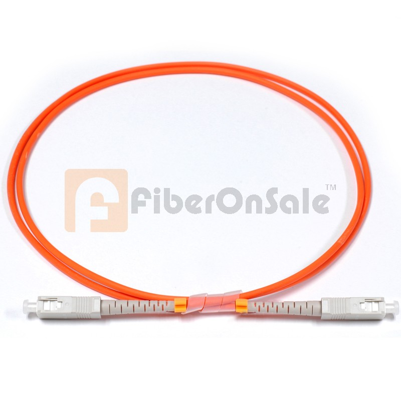 SC-SC Simplex OM1 62.5/125 Multimode Fiber Patch Cable