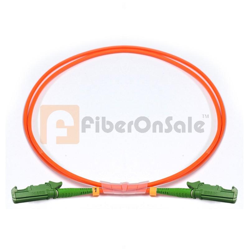 E2000-E2000 Simplex OM2 50/125 Multimode Fiber Patch Cable