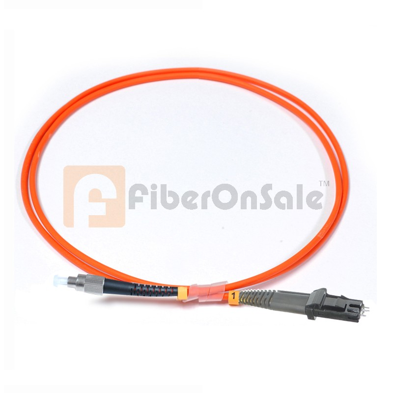 FC-MTRJ Simplex OM2 50/125 Multimode Fiber Patch Cable