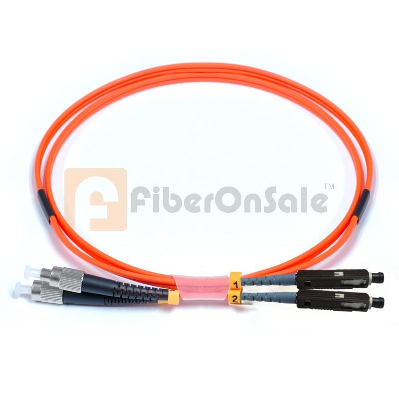 FC-MU Duplex OM2 50/125 Multimode Fiber Patch Cable