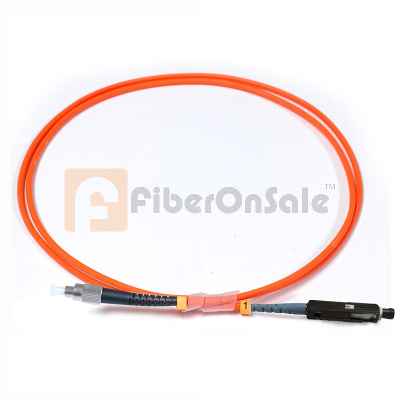 FC-MU Simplex OM2 50/125 Multimode Fiber Patch Cable