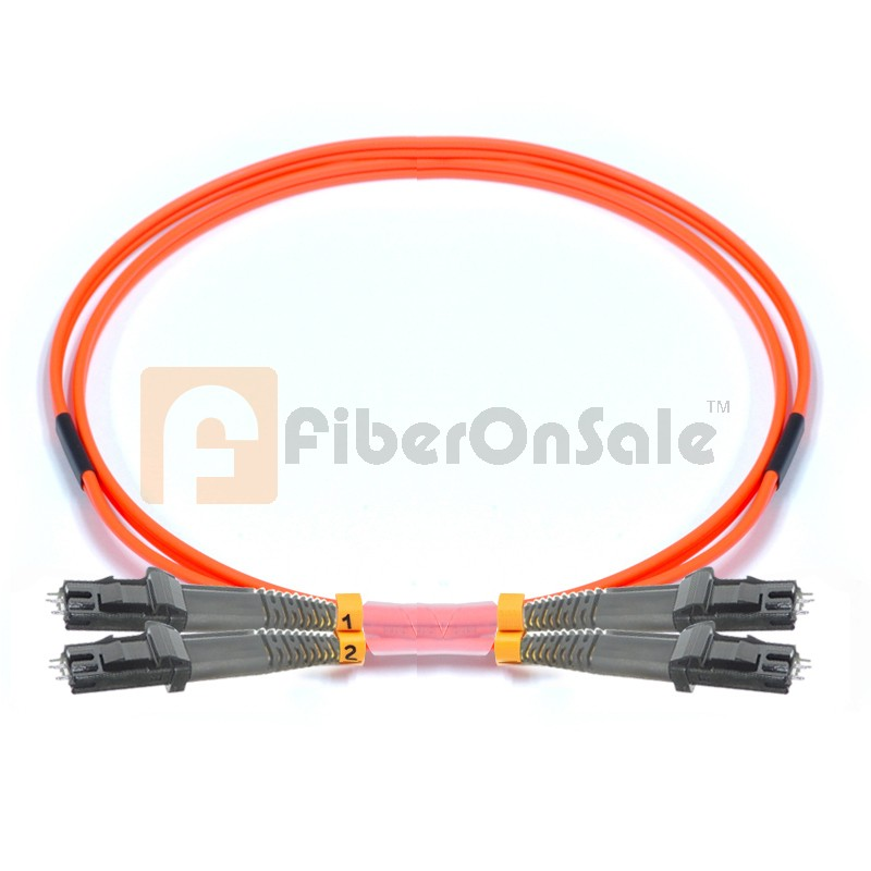 MTRJ-MTRJ Duplex OM2 50/125 Multimode Fiber Patch Cable