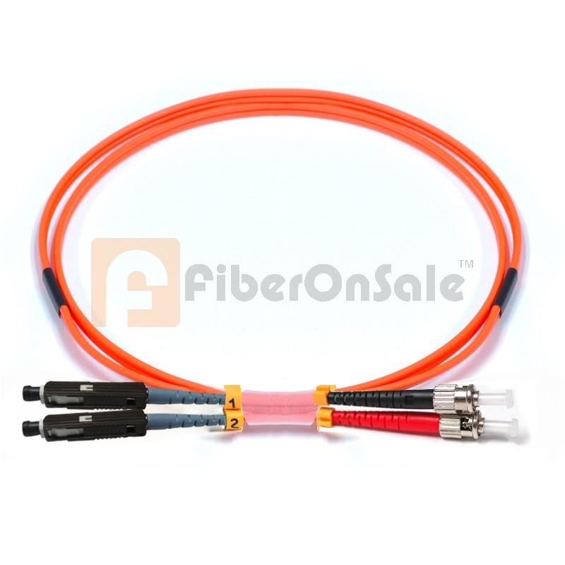ST-MU Duplex OM2 50/125 Multimode Fiber Patch Cable
