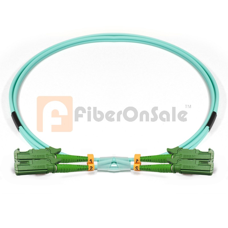 E2000-E2000 Duplex 10Gb OM3 50/125 Multimode Fiber Patch Cable