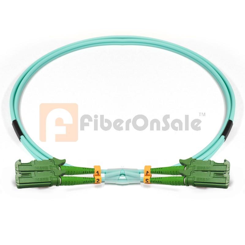 E2000-E2000 Duplex 10Gb OM3 50/125 Multimode Fiber Patch Cable