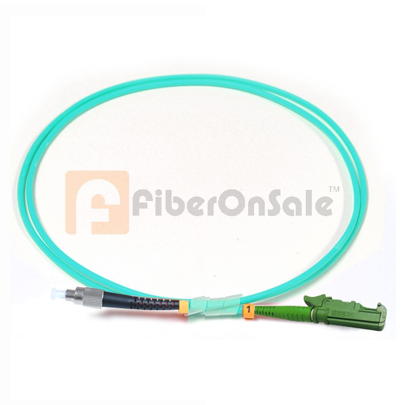 FC-E2000 Simplex 10Gb OM3 50/125 Multimode Fiber Patch Cable