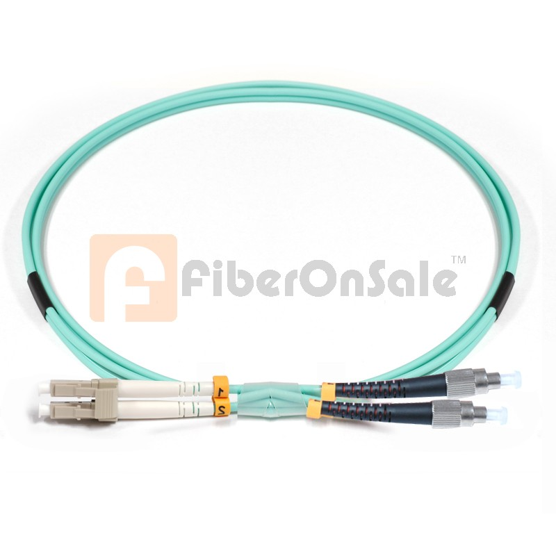 FC-LC Duplex 10Gb OM3 50/125 Multimode Fiber Patch Cable