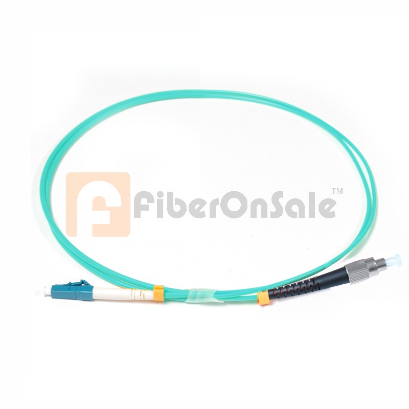 FC-LC Simplex 10Gb OM3 50/125 Multimode Fiber Patch Cable