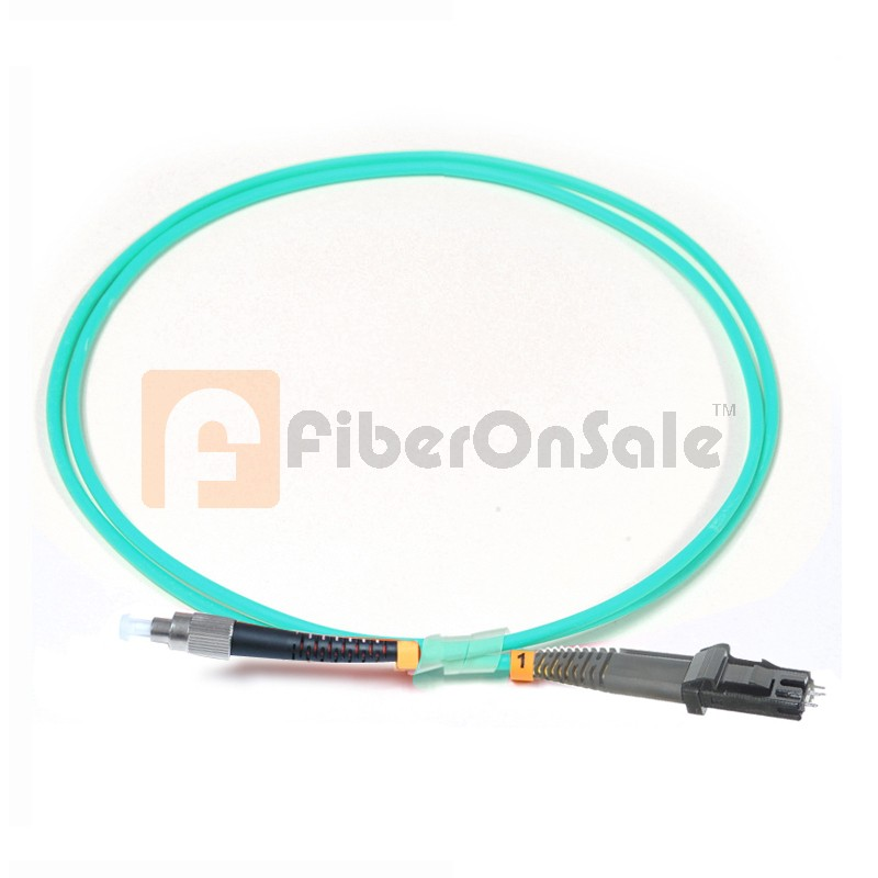 FC-MTRJ Simplex 10Gb OM3 50/125 Multimode Fiber Patch Cable