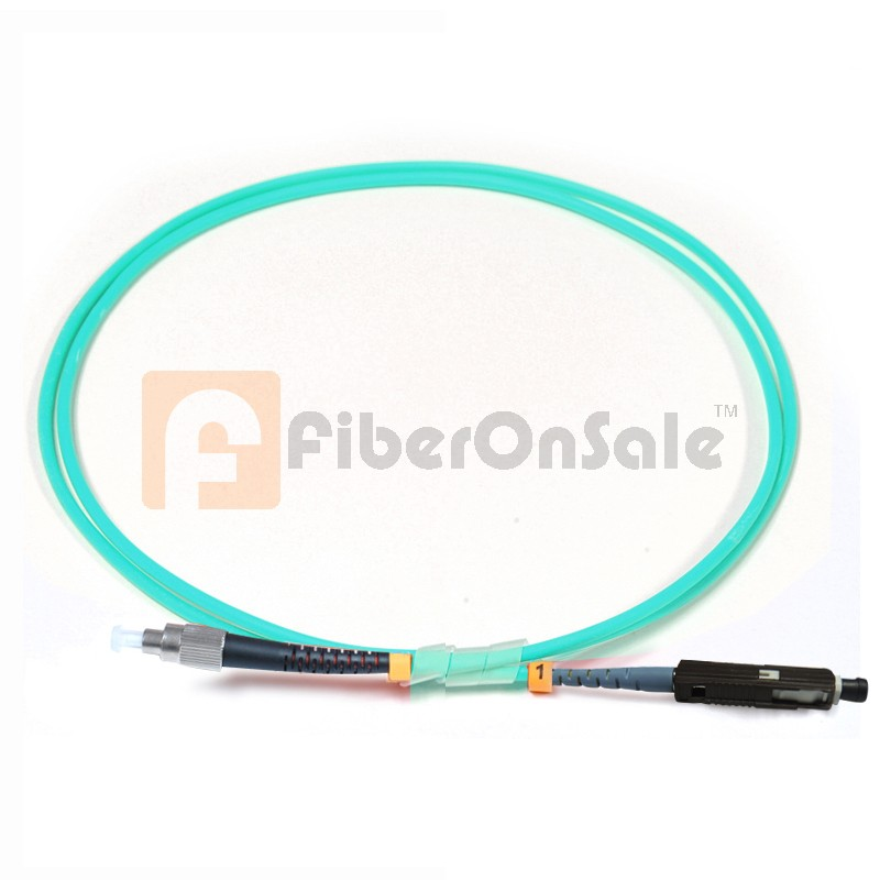 FC-MU Simplex 10Gb OM3 50/125 Multimode Fiber Patch Cable