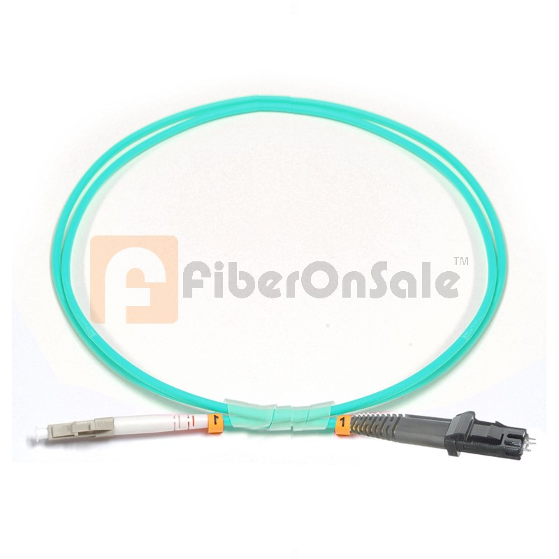 LC-MTRJ Simplex 10Gb OM3 50/125 Multimode Fiber Patch Cable