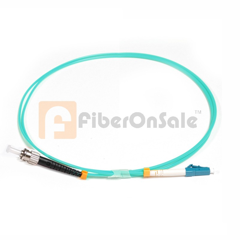 LC-ST Simplex 10Gb OM3 50/125 Multimode Fiber Patch Cable