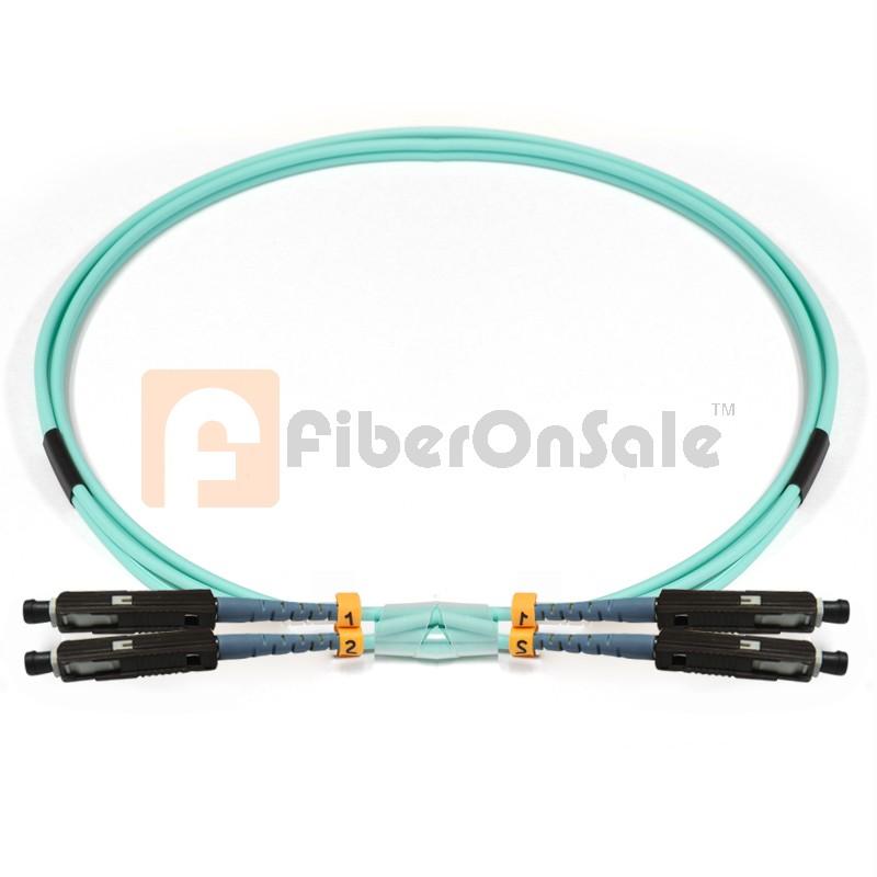 MU-MU Duplex 10Gb OM3 50/125 Multimode Fiber Patch Cable