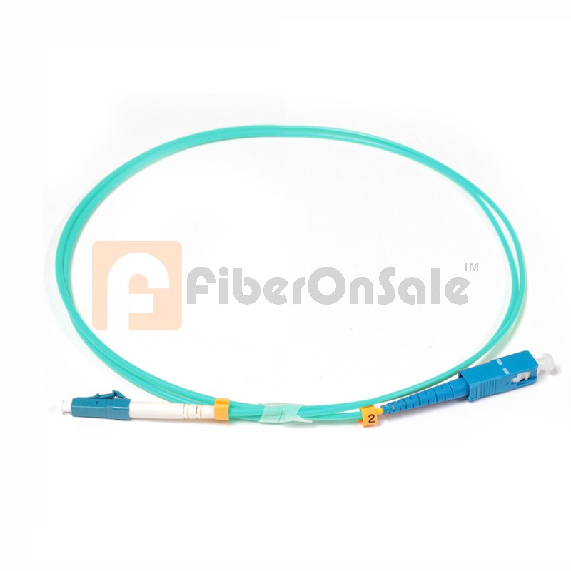 SC-LC Simplex 10Gb OM3 50/125 Multimode Fiber Patch Cable