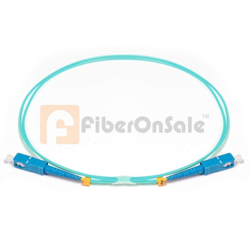 SC-SC Simplex 10Gb OM3 50/125 Multimode Fiber Patch Cable