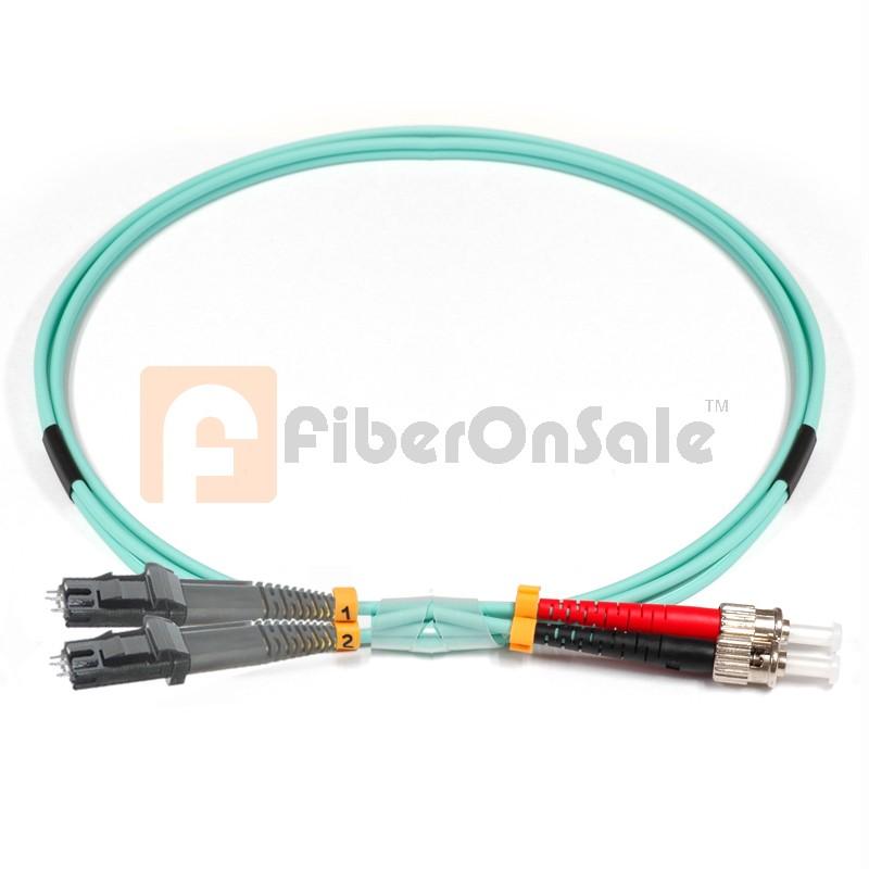 ST-MTRJ Duplex 10Gb OM3 50/125 Multimode Fiber Patch Cable