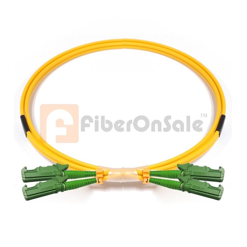 E2000-E2000 Duplex OS1 9/125 Singlemode Fiber Patch Cable