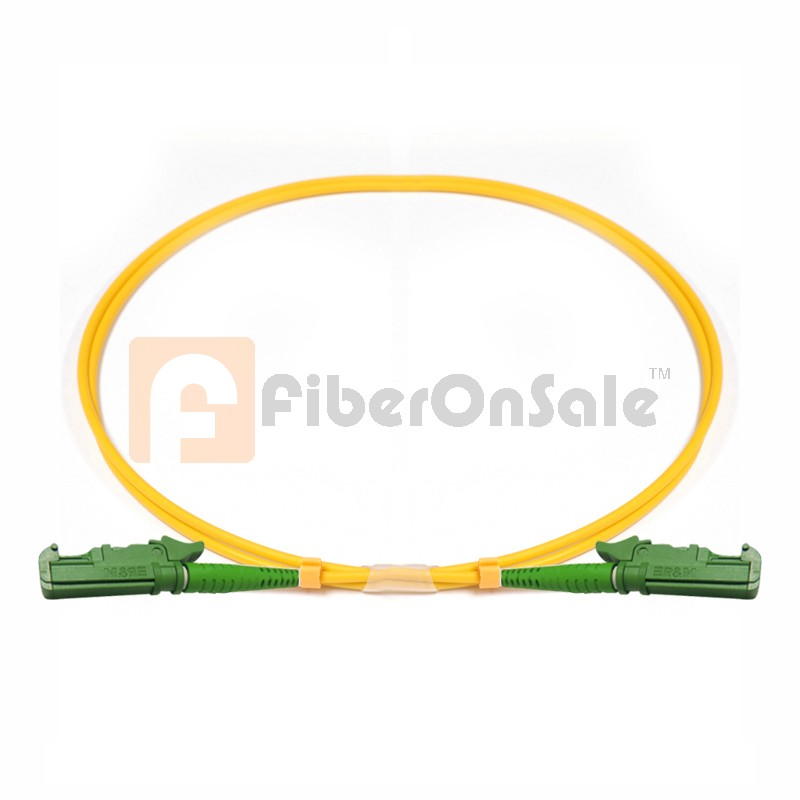 E2000-E2000 Simplex OS1 9/125 Single-mode Fiber Patch Cable