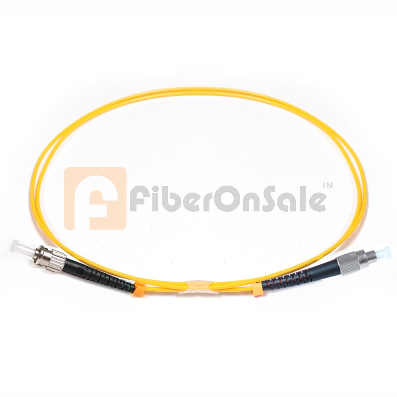 FC-ST Simplex OS1 9/125 Single-mode Fiber Patch Cable