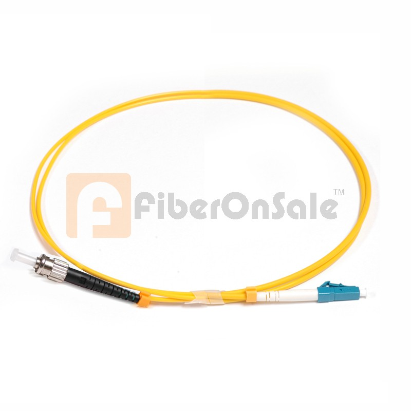 LC-ST Simplex OS1 9/125 Single-mode Fiber Patch Cable