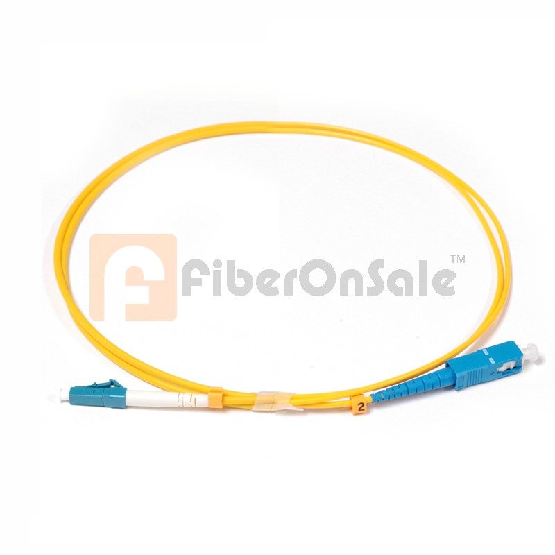 SC-LC Simplex OS1 9/125 Single-mode Fiber Patch Cable