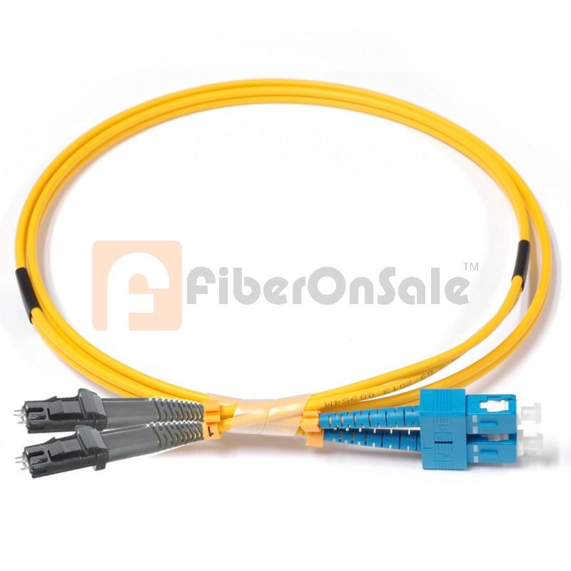 SC-MTRJ Duplex OS1 9/125 Singlemode Fiber Patch Cable