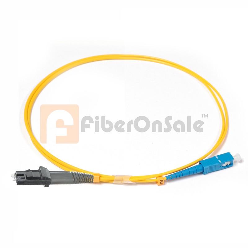 SC-MTRJ Simplex OS1 9/125 Single-mode Fiber Patch Cable